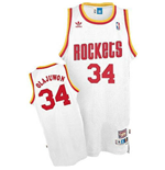 adidas Hakeem Olajuwon Houston Rockets Soul Swingman Home Jersey