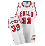 adidas Chicago Bulls #33 Scottie Pippen Soul Swingman Home Jersey