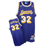 adidas Magic Johnson Los Angeles Lakers Soul Swingman Road Jersey
