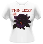 Thin Lizzy T-shirt Black Rose