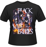 Black Veil Brides T-shirt Set On Fire