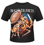 Black Veil Brides T-shirt Skelewarrior