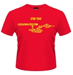 Star Trek T-shirt Ships Of The Line (RED)