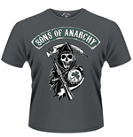 Sons Of Anarchy T-shirt Reaper Shamrock