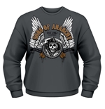 Sons Of Anarchy Sweatshirt Winged Reaper
