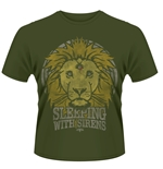 Sleeping With Sirens T-shirt Lion Crest