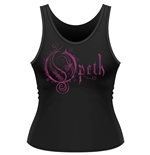 Opeth Tank Top Orchid Logo