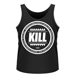 Kill Brand Tank Top Swag Logo Circle (BLACK)