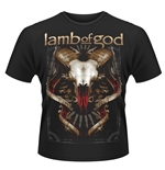 Lamb Of God T-shirt Tech Steer