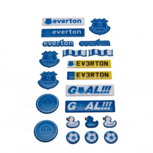 Everton F.C. Bubble Sticker Set