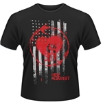 Rise Against T-shirt Stained Flag