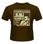 Jimi Hendrix T-shirt Live At Berkeley