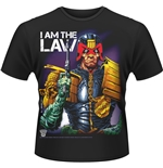 Judge Dredd T-shirt I Am The Law