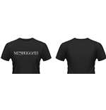 Meshuggah T-shirt Distressed Logo
