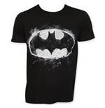 BATMAN Sidewalk Chalk Bat Signal Tee Shirt