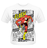 DC Comics T-Shirt Flash Comic Strip