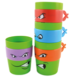 Teenage Mutant Ninja Turtles Stackable Mugs 4-Pack