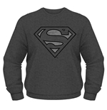 Dc Originals Sweatshirt Superman Vintage Silver Logo
