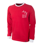 Aberdeen FC 1969/70 Long Sleeve Retro Shirt 100% cotton