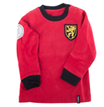 Belgium 'My First Football Shirt' Long Sleeve 90% organic cotton / 10% elasthan