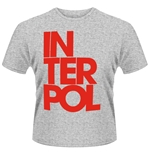 Interpol T-shirt Stacked Logo