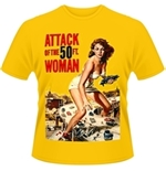 Plan 9 - Attack Of The 50FT Woman T-shirt Attack Of The 50FT Woman (POSTER)