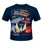 Plan 9 - Earth VS. The Flying Saucers T-shirt