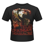 Plan 9 - The Texas Chainsaw Massacre T-shirt The Texas Chainsaw MASSACRE, French Poster