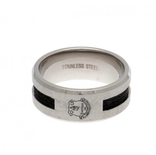 Everton F.C. Black Inlay Ring Large