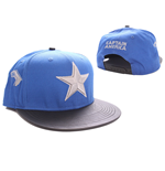 Captain America Adjustable Cap Star Logo blue