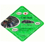 F1 Memorabilia Japanese GP 2002 Car Park Pass Set (3)