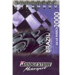 F1 Memorabilia Bridgestone Motorsport Facts Notebooks (4)