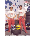 F1 Memorabilia Arrows Promotional Postcard