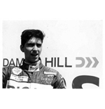 F1 Memorabilia Damon Hill Photo - Van Dieman Racing