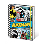 DC Comics Notebook A5 Batman Retro