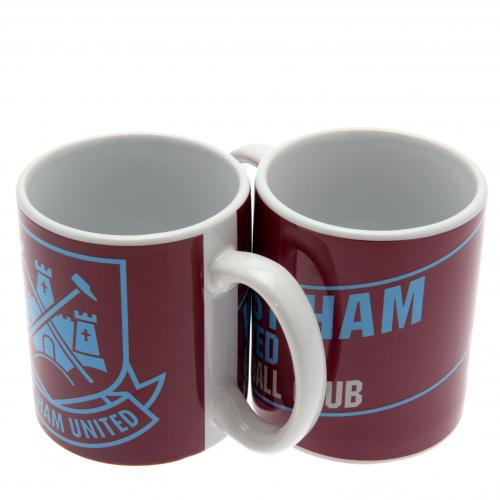 West Ham Unted F.C. Mug ES