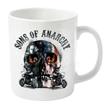 Sons Of Anarchy Mug Flame Skull