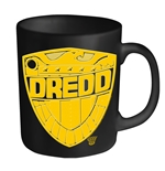 Judge Dredd Mug Dredd Badge