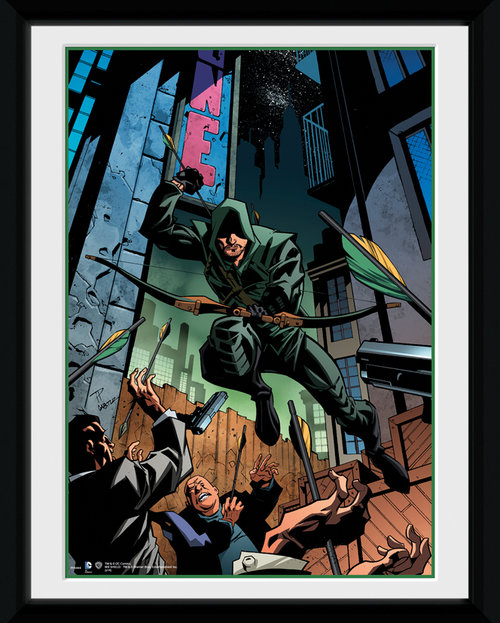 Arrow Attack Framed Collector Print
