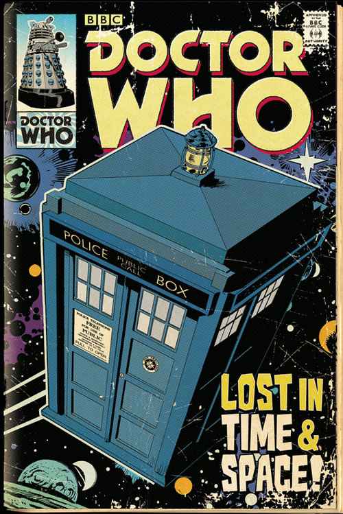 Doctor Who Tardis Comic Maxi Poster
