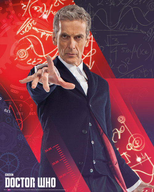 Doctor Who Capaldi Mini Poster
