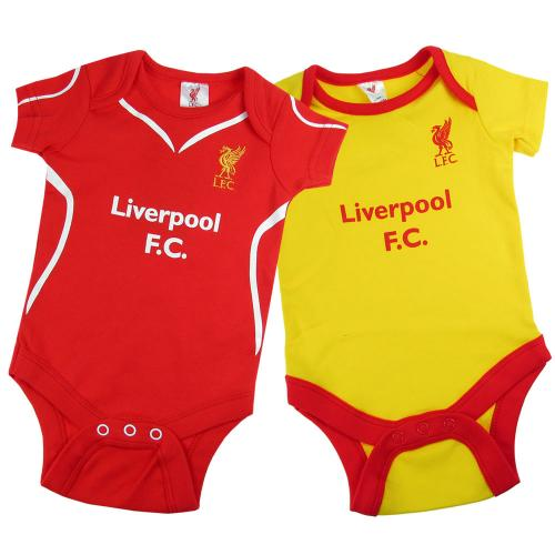 Liverpool F.C. 2 Pack  Bodysuit 12/18 mths