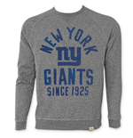 NFL NEW YORK GIANTS Men's Since 1925 Junk Food Crewneck Sweatshirt