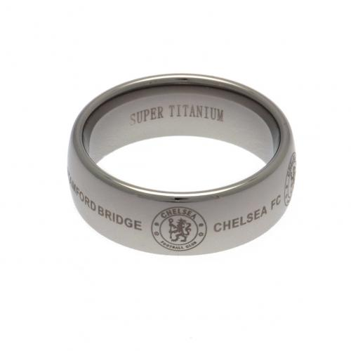 Chelsea F.C. Super Titanium Ring Medium