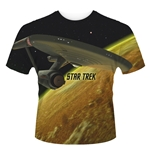 Star Trek T-shirt Enterprise (dye SUB)