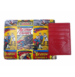Superman Design Wallet with Card Holder