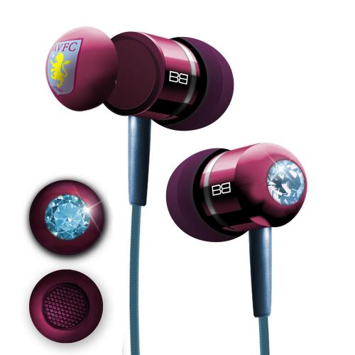 Aston Villa F.C. BassBuds Luxury Headphones