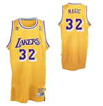adidas Magic Johnson Los Angeles Lakers Magic Soul Swingman Nickname Jersey