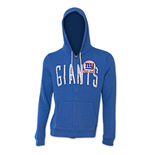 NFL NEW YORK GIANTS Junk Food Blue Hooded Sweatshirt