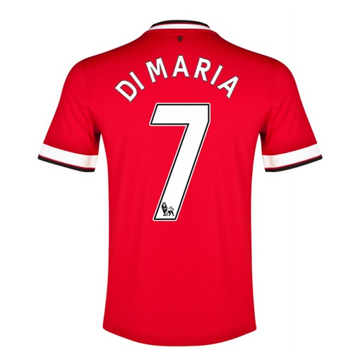 2014-15 Manchester United Home Shirt (di Maria 7) - Kids